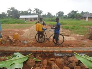 Fondation et transport d'eau