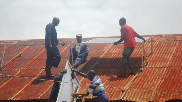 Installation panneaux solaires4