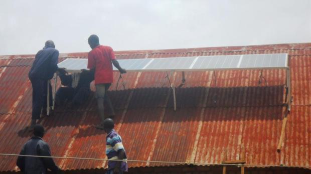 Installation panneaux solaires7