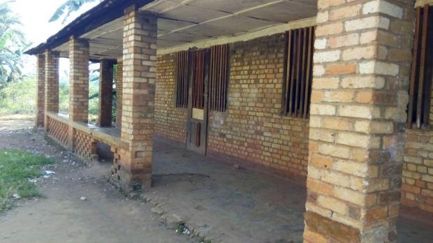 Ancien bâtiment avant la restauration