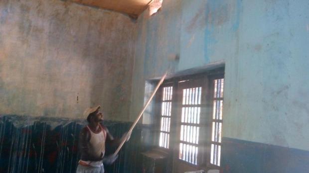 peinture des anciennes salles de classe