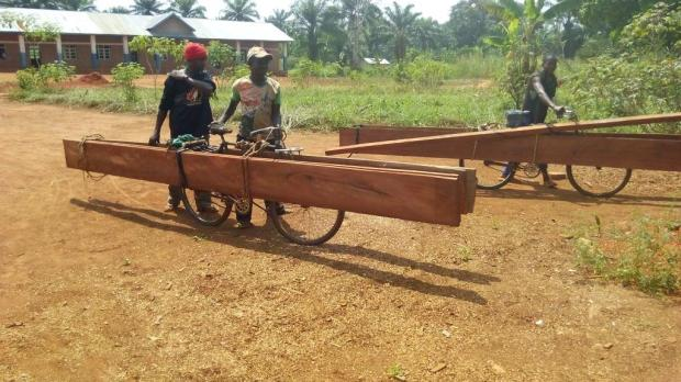 Transport des planches