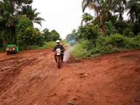 Route Abiangama