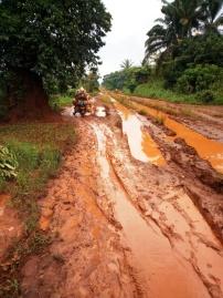 Route Abiangama à 12 km de Pawa vers Isiro